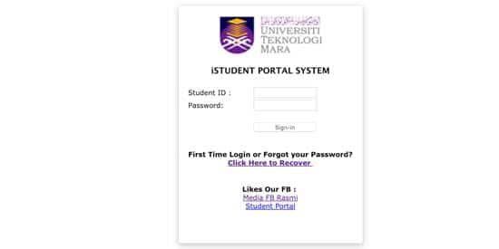 Student Portal Uitm Digital Mukmin